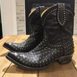 Old Gringo Studded Boots Womens 7